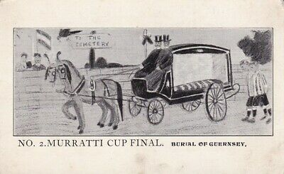Guernsey & Jersey Football - Muratti Supporters- Burial Of Guernsey - Card No. 2 • 3.99£