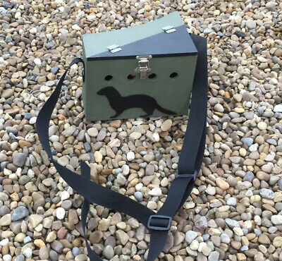 Ferret Bow Back Carry Box Lightweight Poachers Style Small Single Painted • 32£