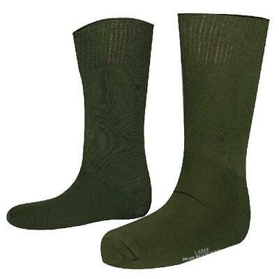 3 Pack Military Cushion Sole Socks Antimicrobial Silverplated X-static Usa Made • 14.13£