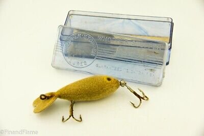 $ CDN11.49 • Buy Vintage Whopper Stopper Flocked Mouse Antique Fishing Lure In Box RS11
