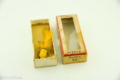 $ CDN8.83 • Buy Vintage Heddon Wilder Dilg Minnow Antique Fly Fishing Lure In Box RS2