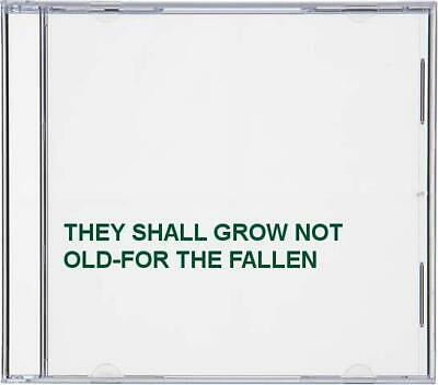 $23.48 • Buy THEY SHALL GROW NOT OLD-FOR THE FALLEN -  CD YGLN The Fast Free Shipping