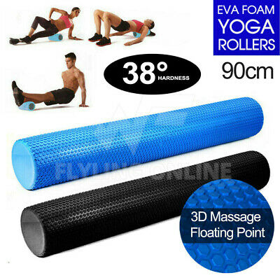 AU30.99 • Buy VIVVA Foam Roller Physio Massage Muscle Back Training Exercise Yoga Fitness 90CM