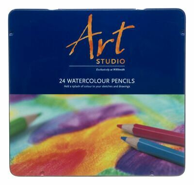 £7.19 • Buy WHSmith Art Studio Watercolour Pre-sharpened Pencils Ready To Use Pack Of 24