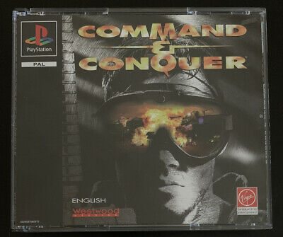 AU48.95 • Buy Command & Conquer PAL Ps1 - Free Tracked Shipping
