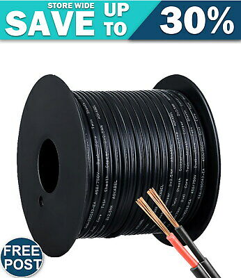 AU26.31 • Buy 2.5MM Electrical Cable Twin Core Extension Wire 30M Car Solar Panel 450V
