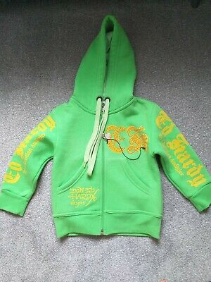 Kids 2 Years Don Ed Hardy By Christian Audigier Hoodie  • 10£