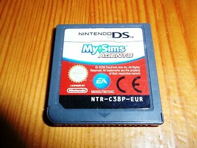 £4.95 • Buy My Sims Agents For Nintendo DS,Lite,DSi & 3DS (cart Only)