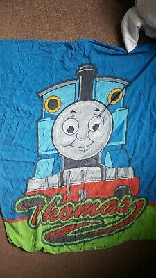 Thomas The Tank Engine Cot Bed Duvet Cover And Pillowcase Good Condition • 6£