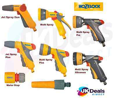 £4.99 • Buy HOZELOCK Quick Connection Hose Pipe Attachment Watering Spray Guns, Nozzle