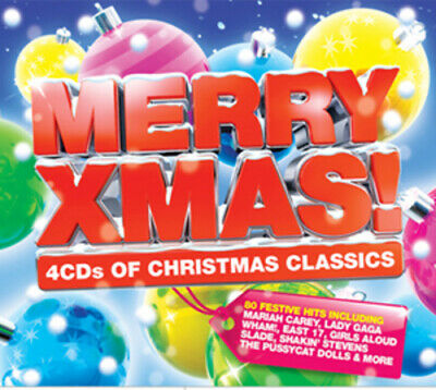 £3.97 • Buy Various Artists : Merry Xmas! CD 4 Discs (2010) Expertly Refurbished Product
