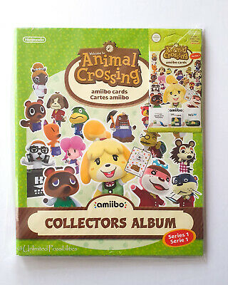 AU149.95 • Buy New Animal Crossing Amiibo Cards Collectors Album Series 1 + Unopened Cards Pack