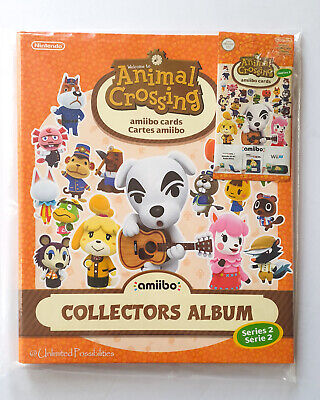 AU450.95 • Buy New Animal Crossing Amiibo Cards Collectors Album Series 2 + Unopened Cards Pack