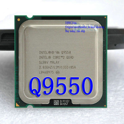 $ CDN36.27 • Buy Intel Core 2 Quad-core CPU Q9550 2.83GHz / 12M / FSB1333 LGA775 Processor