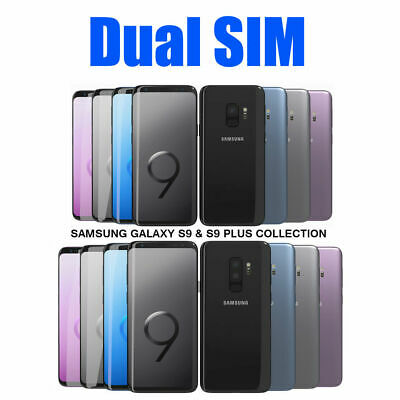 $ CDN574.15 • Buy Samsung Galaxy S9 G9600 S9 Plus G9650 Dual SIM 64GB 128GB Unlocked