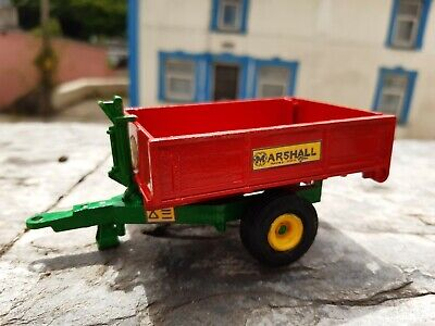 Rare Britains Conversion Marshall Tipping Trailer  For Tractor Siku • 35£