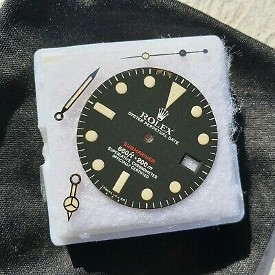 $ CDN4727.25 • Buy Vintage Rolex Red Submariner MK6 Dial And Hands