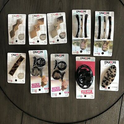 $22 • Buy Huge Wholesale Lot Of Hair Accessories Scunci,claw Clips, Barrettes New