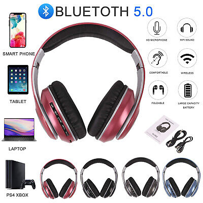 £8.99 • Buy Bluetooth Wireless/Wired Stereo Headphones Headset Over Ear For IPhone Samsung