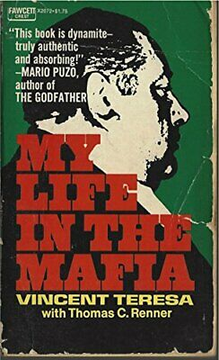 My Life In The Mafia, Teresa, Vincent & Renner, Thomas C., Used; Good Book • 3.29£