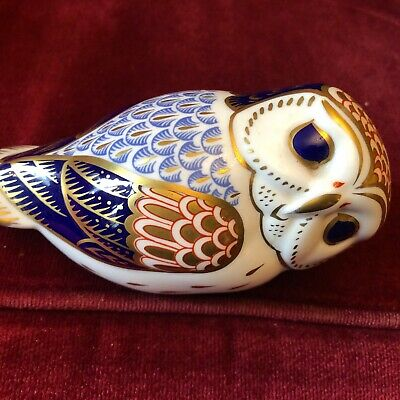 Royal Crown Derby Paperweights Of An Owl • 6£