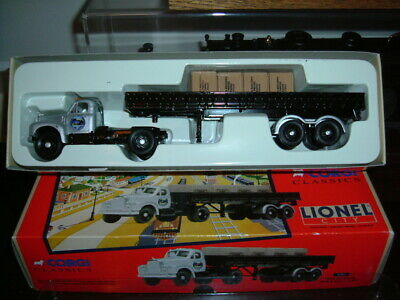 $35 • Buy Corgi Classics 53501 (LIONEL CITY) Port Of Lionel Mack B Semi + Crates  1:50