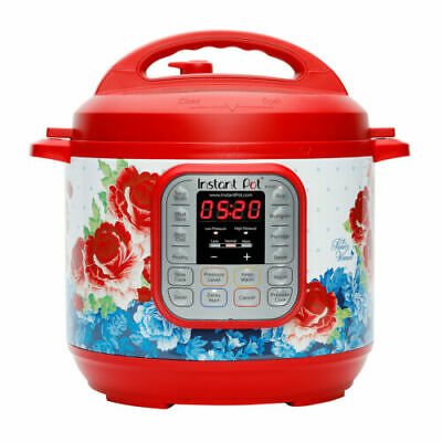 $77 • Buy The Pioneer Woman Instant Pot DUO60 6-Quart Frontier Rose 7-In-1 Multi-Use Progr