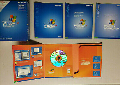 $ CDN75 • Buy Microsoft Windows XP Professional Upgrade Version 2002 W/ Service Pack 2 W/ Box