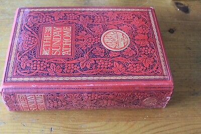 The Sunday At Home 1909-1910-- Lovely Book - Very Heavy 2.5kg+ • 28.49£