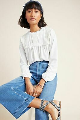 $ CDN74.72 • Buy Anthropologie MARA EMBROIDERED LACE TOP NWT  New Size XL