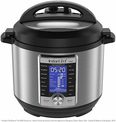 $121.45 • Buy Instant Pot Ultra Electric Pressure Cooker, 6Qt 10-in-1, FREE SHIPPING!