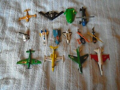 Diecast Playworn Joblot Planes,helicopter,etc,matchbox,corgi Etc • 1.24£