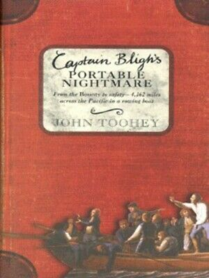 £3.10 • Buy Captain Bligh's Portable Nightmare By John Toohey (Hardback) Fast And FREE P & P