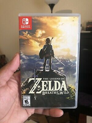 $30 • Buy Legend Of Zelda: Breath Of The Wild (Nintendo Switch, 2017) Read Description