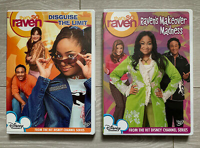 That's So Raven DVD - Disguise The Limit & Ravens Makeover Madness - Disney Lot • 10£