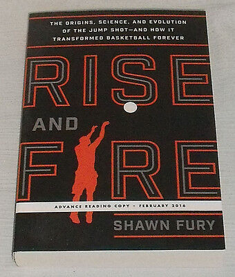 AU17.54 • Buy Rise And Fire Book By Shawn Fury Advance Reading Copy ARC Paperback NEW