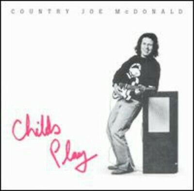Mcdonald, Country Joe : Childs Play CD Highly Rated EBay Seller Great Prices • 9.99£