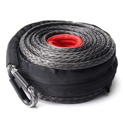 AU115.45 • Buy 10mm X 30M Synthetic Winch Tow Rope 4WD Accessories Towing Recovery Gear
