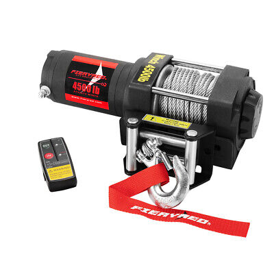 AU175.95 • Buy 2041kg 12V Wireless Remote Electric Winch With Steel Cable 4WD Accessories