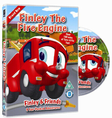 Finley The Fire Engine DVD (2010) Cert U Highly Rated EBay Seller Great Prices • 1.70£