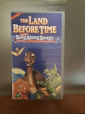 The Land Before Time More Sing Along Songs Vhs • 5£