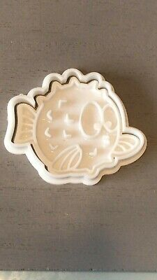 Puffer Fish Cake Stamp Shape Cookie Cutter Dough Fondant Baking • 4.95£