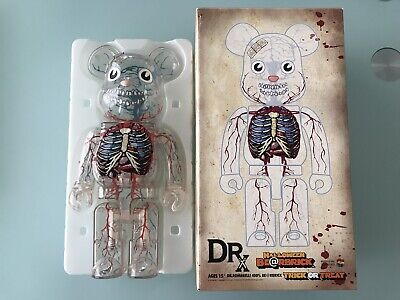 $2000 • Buy Medicom Bearbrick 2008 DRX Dr Romanelli X Halloween Japan Ltd 500 Be@rbrick MINT