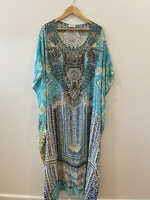 AU145.50 • Buy Camilla Silk Kaftan One Size