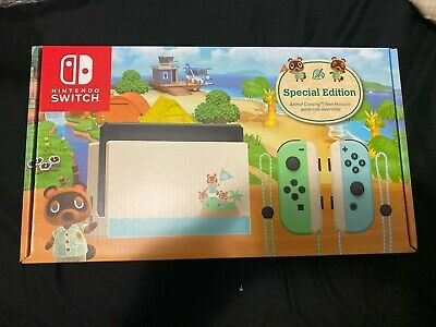 AU560 • Buy Nintendo Switch Animal Crossing New Horizons Special Edition Console