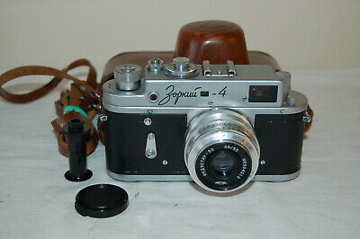 Zorki-4 Vintage 1963 Rangefinder Camera And Industar Lens. No.63501894. UK Sale • 44.99£