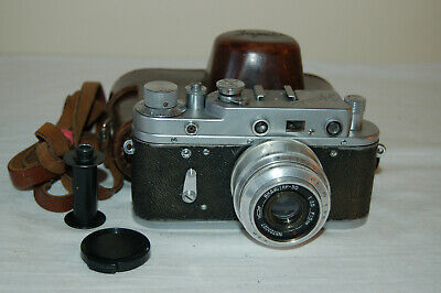 Zorki-2c Vintage 1957 Rangefinder Camera And Industar Lens. No.57101561. UK Sale • 54.99£