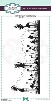 £6.26 • Buy Creative Expressions - Designer Boutique Collection - Pre Cut Rubber Stamp - A S