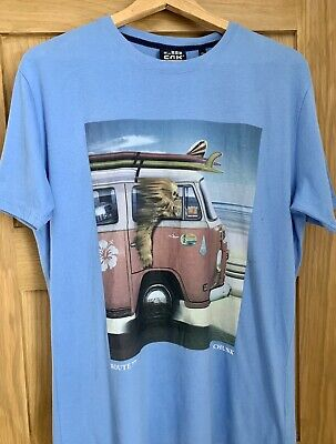 NEW CHUNK  T-Shirt BNWTS  STAR WARS - CHEWY - ROUTE 77 CAMPER VAN. Men's Size Xl • 21.99£