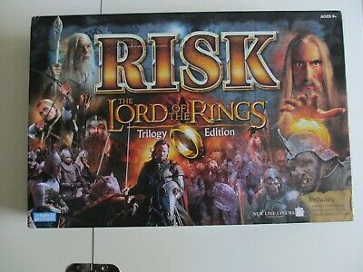 $64.50 • Buy RISK Lord Of The Rings Trilogy Edition 2003 New Sealed Contents